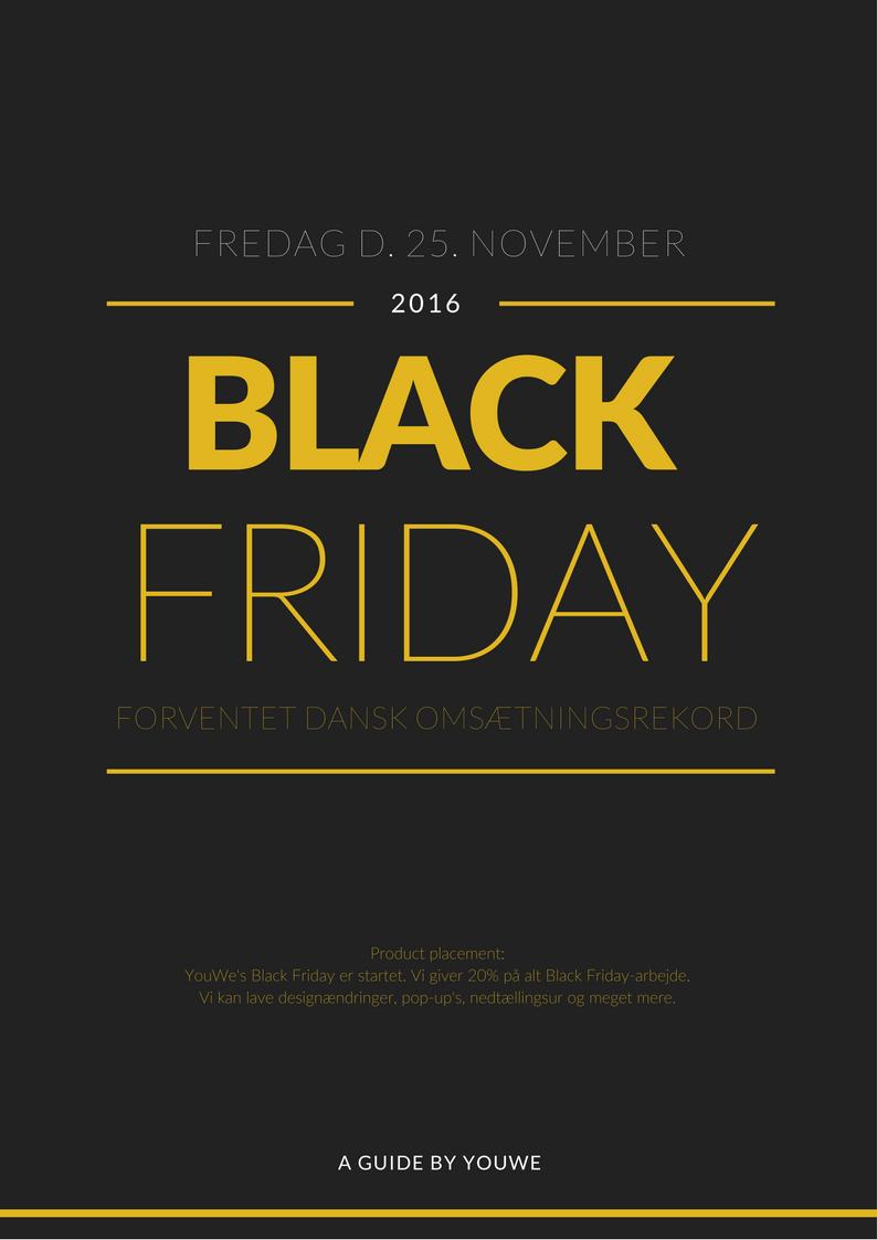 628dff096b8 Vi har udarbejdet en guide med 7 effektive, simple Tips & Tricks til Black  Friday.